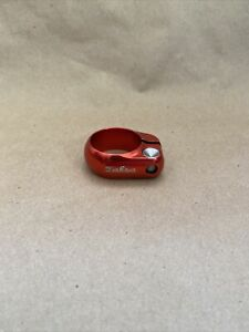 Salsa 32.0mm Lip Lock Seat Clamp Red