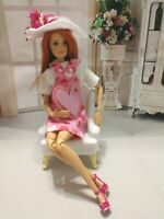 OOAK HANDMADE DOLL CLOTHES VALENTINE HEART JUMPER OUTFIT FASHION DOLL SET