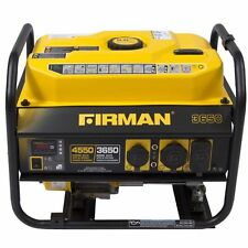 Firman Performance Series Gas Powered 3650/4550 Watt Portable Generator P03607