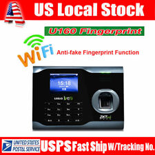"ZKsoftware U160 3"" TFT Screen Biometric Wifi Fingerprint Time Attendance Scanner"