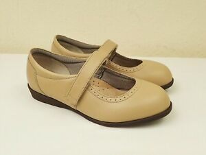 Cosyfeet Daisy Mae Size UK 6 Mary Jane Extra Roomy Wide Fit Shoes Cream Beige
