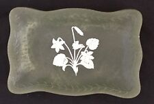Vintage New Zealand Marlestone Handcrafted Cultured Marble Display Plate