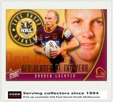 2007 Select NRL Champions Gem Card Gc14 Steve (warriors)