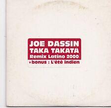 Joe Dassin-Taka Takata Promo cd single