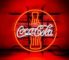 "Cola Drink Boutique Decor Store Custom Vintage Neon Sign uk 16""X16"""