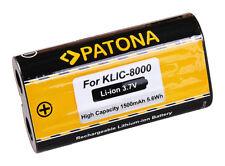 PATONA AKKU f. Kodak EasyShare Z612 Z712 IS Z812 IS Z1012 IS KLIC-8000