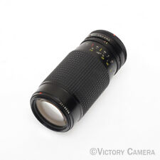 Tokina AT-X 50-250mm F4.5-5.6 Canon FD Lens (1023-13)