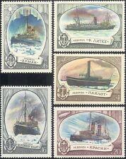 Russia 1976 rompighiaccio Barche Navi//// Marittimo trasporto/Nautico Set 5 V (b2081)