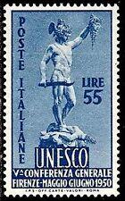ITALY 1950 UNESCO / DAVID STATUE SC#534 VF MNH CV$ 80.00