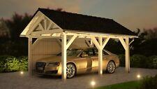 Spitzdach Carport 3.50 x 5.20 mit 33% Onlinerabatt Premium Carports ab Werk