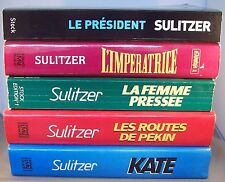 LOT DE 5 PAUL-LOUP SULITZER / LE PRESIDENT, L'IMPERATRICE, KATE, LES ROUTES...