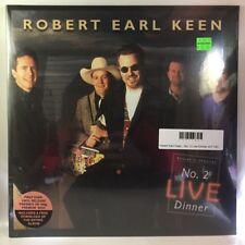 Robert Earl Keen - No. 2 Live Dinner 2LP NEW