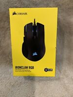 Corsair Ironclaw RGB FPS/MOBA Gaming Mouse - Black