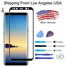 Samsung Galaxy Note 8 Replacement OEM Front Touch Screen Glass Lens + Tools Kits