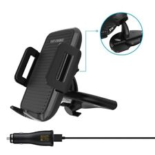 Qi Wireless Car Charger Phone Charging Stand CD Mount Holder For iphone8 X S8 S7