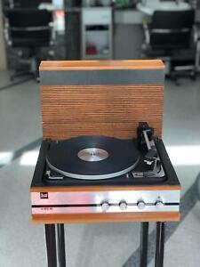 Dual H1010 AV Plattenspieler mit Verstärker