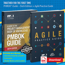 PMBOK Guide 6th + Agile + 2000 Q&As + Formulae + Study Notes and more 🎓P.D.F.📚