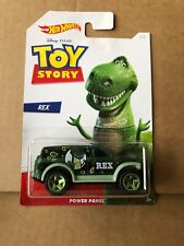 HOT WHEELS DIECAST - Toy Story - Rex - Power Panel 4/6 - Combined Postage