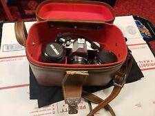 Pentax K1000 35mm SLR Film Camera With SMC Pentax-M 1:2 50mm Lens