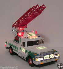 REDUCED-1994 Hess Rescue Truck with great sounds and lights-collectible-MINT-NIB