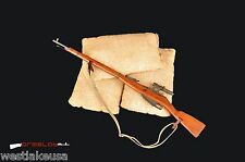 Mosin Sniper Rifle 1/6th Scale Rifle  (Made with Wood and Metal)