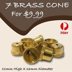 Metal Cone Piece - drops - Brass cone Pieces - bong - smoking pipe
