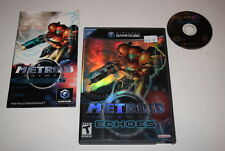 Metroid Prime 2 Echoes Nintendo GameCube Video Game Complete