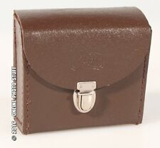 ZEIS ICON, GERMANY, BROWN, LEATHER CASE, NEW