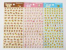Rilakkuma Korilakkuma Kiiroitori cute kawaii teeny tiny 3D puffy stickers