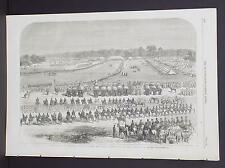 Illustrated London News Single-Page A2#45 Dec. 1864 The Durbar at Lahore