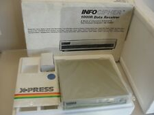 NEW INFOCIPHER 1000R DATA RECEIVER GENRAL INSTRUMENT APPLE IIC IIE