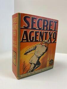 Secret Agent X-9 Big Little Book Fine+ or Better