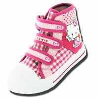 Girls Kids Hello Kitty Cartoon Character Gladioli Summer Canvas Boot