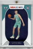 2020-21 Panini NBA Hoops Lamelo Ball RC Rookie Base Charlotte Hornets #223 GEM