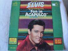 ORIGINAL SOUNDTRACK ELVIS PRESLEY FUN IN ACAPULCO VINYL LP 1963 RCA VICTOR MONO