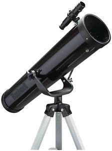 Bushnell 76mm Reflector Star Gazing Telescope ~ Like Celestron PowerSeeker 76AZ
