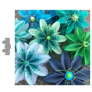 Metal Cutting Dies Mold Folded Flower Die Cuts Stencils Scrapbooking Paper Craft