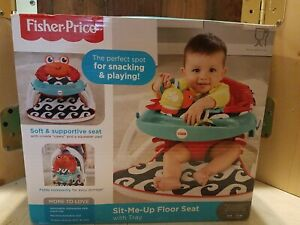 Fisher Price Sit-Me-Up Floor Seat w/ Tray