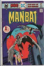 DC'S Man-Bat #1 January 1975 VG+