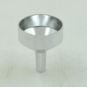 Silver 18mm Mini Metal Filling Funnel For Perfume transfer Diffuser Bottle - UK