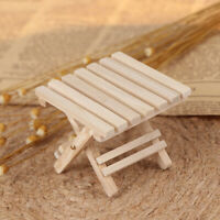 1:12 Dollhouse miniature furniture beach folding table for kids toys lj