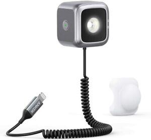 Anker iPhone LED Flash External Flash Photos & Selfies Light Cube A7330 - SEALED