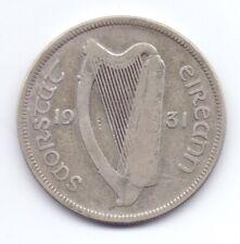 Rare 1931 Irish Silver Half-Crown Coin Leat Coroin Ireland