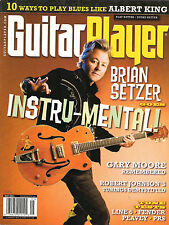 GUITAR PLAYER May 2011 BRIAN SETZER Gary Moore Play Blues Like Albert King