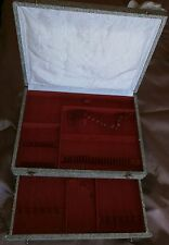 Coffret vintage pour ménagère métal argenté 64 pièces - Usures vendu en l'état