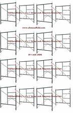 Cbm Scaffold 8 Set of 5' X 6'4 X 7' Masonry Drop Lock Scaffold Frame Set
