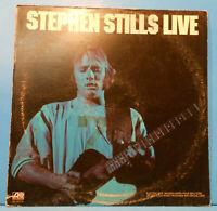 STEPHEN STILLS LIVE VINYL LP 1975 ORIGINAL PRESS GREAT CONDITION! VG++/VG!!A