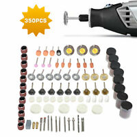 350pcs Dremel Rotary Accessory Kit Grinding Sanding Polishing Rotary Tool Set US