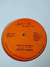 "JESSE JAMES - SHE'S A WINNER - RARE DISCO BOOGIE 80s CLUB - MIDTOWN USA 12"""