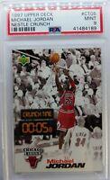 1997 97 Upper Deck Nestle Crunch Time Michael Jordan #CT05, Graded PSA 9 Mint !